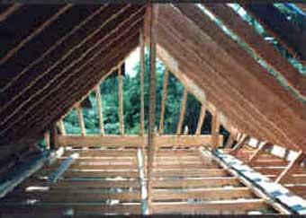 Pitch Timber Roof Framing Carpenter Hersham Walton On