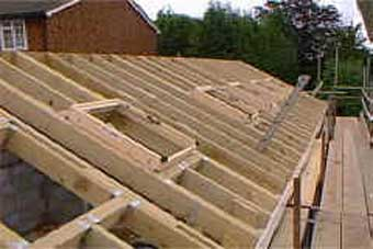 Traditional Cut Roofs Amp Front Through Elevation Of Hipped